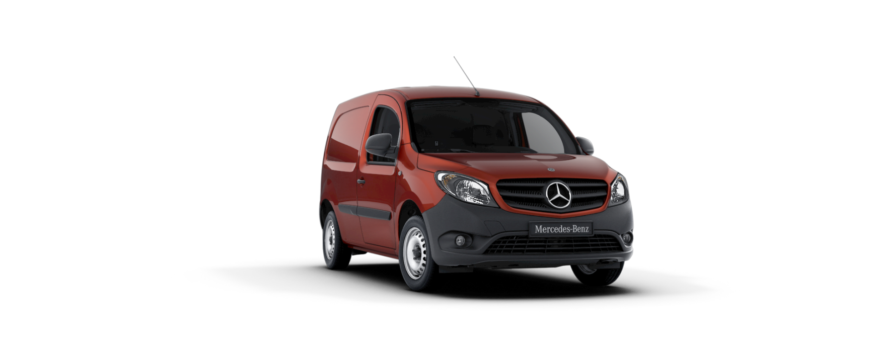 Citan fourgon, rouge bornite